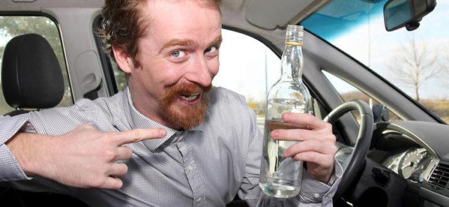 Что грозит за распитие спиртного в припаркованном автомобиле?